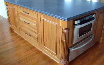 Bellinger Island with oven