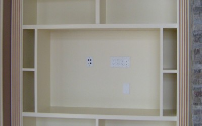 Bellinger custom shelving
