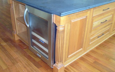 Bellinger island with wine cooler