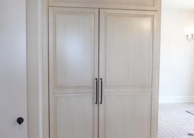 built in freezer and refrigerator